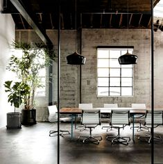 35 Luxury And Amazing Industrial Home Office Designs – Modern Corporate Office Design Corporate Office Design, Office Wall Design, Modern Office Design, Workspace Design, Office Interior Design, Office Interiors, Office Designs, Office Ideas, Industrial Office Space