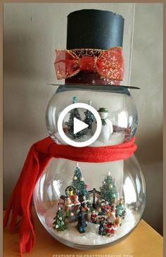 Christmas Fabric Crafts, Snowman Christmas Decorations, Halloween Yard Decorations, Snowman Crafts, Diy Christmas Gifts, Simple Christmas, Halloween Crafts, Christmas Home, Apartment Christmas