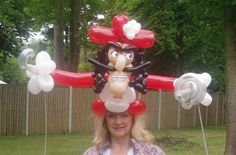 balloon pirate hats - Google Search