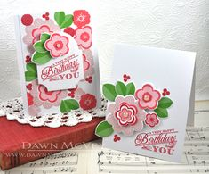 "So many ""must haves"" in this release. The more I see the more I just can't wait to have this in my hands!! Ruby Rose stamp set Dawn McVey - PTI May '13 release"
