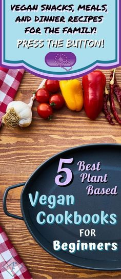 The best DIY vegan diet cookbooks with plant based low carb recipes for preparing easy clean eating meals for the family. Here are the 5 best books. Easy Clean Eating Recipes, Easy Healthy Recipes, Healthy Meals, Eating Healthy, Vegan Recipes, Cookbooks For Beginners, Recipes For Beginners, Plant Based Cookbook, Food Shopping List