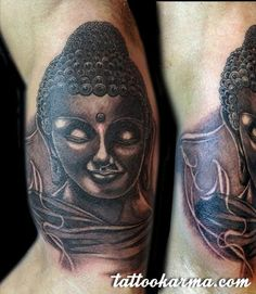 Small Buddha Tattoo Pictures to Pin on Pinterest Buddha Tattoos, Picture Tattoos, Tattoos For Women, Portrait, Pictures, Photos, Headshot Photography, Female Tattoos, Portrait Paintings