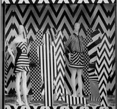 "VALENTINO, ""Lines of Symmetry"", pinned by Ton van der Veer"