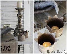 Ihr Lieben,   in unserem Post mit den neuen Liegestühlen haben einige von euch die Kronen aus Konservendosen bewundert, die bei uns im Gart...