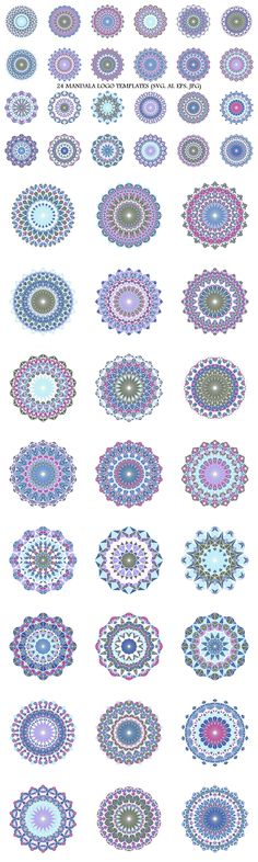 24 Mosaic Mandala Logo Templates #round #MandalaArtwork #LogoDesignTemplates #geometric #healing #style #shape #AbstractLogo #AbstractLogoTemplate #mandala #MandalaDesign #GeometricLogo #mosaicgeometry #MandalaDesignElement #polygon #spiritual #MandalaLogoTemplates #logotemplates #logo Mandala Logo, Mandala Design, Best Logo Design, Business Logo Design, Graphic Design, Abstract Logo, Geometric Logo, Clothing Logo Design, Free Logo Templates