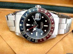 http://www.jamesedition.com/watches/rolex/gmt_master/gmt-master-vintage-bakelite-pepsi-for-sale-744552