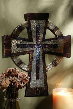 http://celebratefaith.com/collections/wall-crosses/products/5-foot-jeweled-steel-celtic-cross
