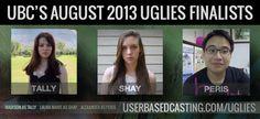 UBC Finalists for Scott Westerfeld's Uglies. userbasedcasting.com/uglies