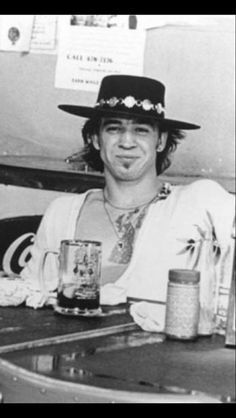 Stevie Ray Vaughn: C'mon now. Is that all the beer you got?