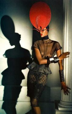 Vogue Italia Hats Three by Steven Meise