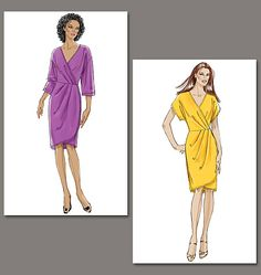 Wrap dress from Very Easy Vogue