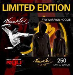 RYU Warrior Hoodie