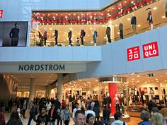 (A busy afternoon in the public space between NOrdstrom and H&M. Thousands pass by daily)