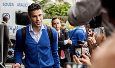 Mundial WC 14 Holland arrived in Rio de Janeiro on Friday ahead of the World Cup