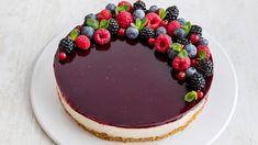 Hoe bereid je een Philadelphia Kerst-Cheesecake met rode vruchten Philadelphia Recipes, Biscuits, Fancy Desserts, Tiramisu, Pudding, Sweets, Ethnic Recipes, Youtube, Fresh Fruit