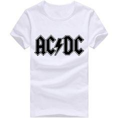 AC DC T Shirts Men Black Sitcoms AC/DC Mens Tee Brian Johnson GUITAR shirt Hall High Way To Hell Man Tops Free Shipping #camiseta #friki #moda #regalo