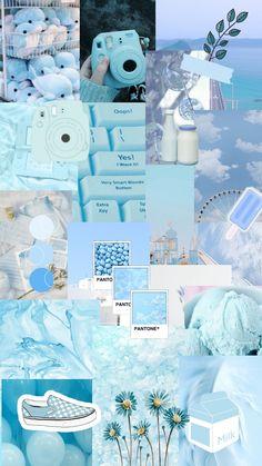Walpapper Blue pastell💙