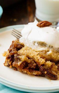 Pecan Pie Cake- cake that tastes just like pecan pie!
