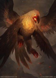 fiery bird by mahons
