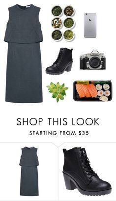 """Greyy"" by dorienooos ❤ liked on Polyvore featuring MANGO, Nikon, Wet Seal, Tea Collection, women's clothing, women's fashion, women, female, woman and misses"