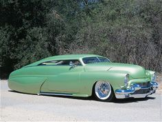 1950 Mercury with 1956 Cadillac front