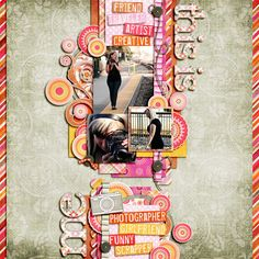 This Is Me    {Cindy's Templates: Set #110 - Cindy Schneider}     {All About Me - Scrap Kitchen Designs}