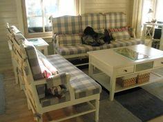 Ristikko-sohvapöytä