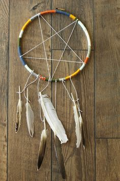 How to make a Dream Catcher.