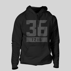 """CrossFit Linchpin - """"36"""" Unisex Pullover Hoodie. Click for more colors"""