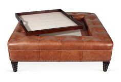 One Kings Lane - Mary Evelyn McKee - Beeline Tray Chic Ottoman