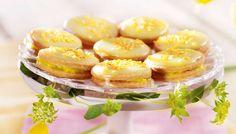 Sitruunaiset herrasväen pikkuleivät - K-ruoka