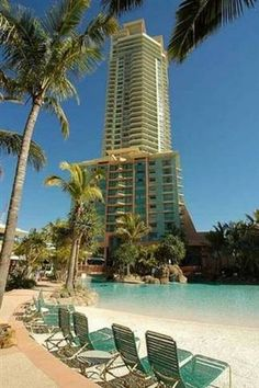 Book Gold Coast accommodation with Stayz, home to over holiday houses Australia-wide. Rental Apartments, Vacation Apartments, Family Resorts, Burj Khalifa, Gold Coast, Ideal Home, Swimming Pools, Surfers, Condo