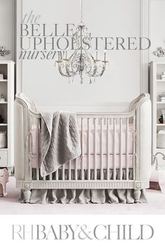 A European antique-inspired crib combined with ultra-soft organic linen bedding and timeless d_cor creates a refined nursery for your littlest one. Save on everything with the RH Members Program. Kids Room Design, Nursery Design, Baby Lane, Nursery Themes, Nursery Ideas, Room Ideas, Baby Bedroom, Nursery Neutral, Inspired Homes