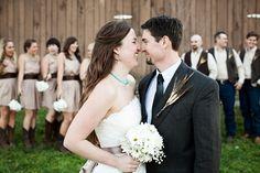 Budget Barn Wedding: Michelle   Sean