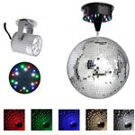 "12"" Mirror Disco Ball Complete Kit Multi-Color - TheLAShop"
