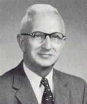 Dr. William Whitcomb Whitehouse, President, Albion College; Fall Commencement 1951