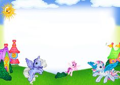 Frames PNG - My Little Pony | Imagens para photoshop