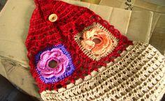 #Crochet flower tea towel free pattern from Crochetology