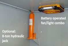 Battery operated fan/light - need this for storm shelter