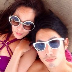 Gorgeous celeb couple Van Ness Wu and Arissa Cheo checking out Constance Moofushi Maldives this Chinese New Years! Click here to view: TheLuxeNomad.com Travel Centre Maldives // info@tcmaldives.com // www.budgetresortsmaldives.com // www.travelcentremaldives.com Celebrity Travel, Celebrity Couples, Cat Eye Sunglasses, Sunglasses Women, Maldives, Centre, Asia, Instagram Images, Chinese