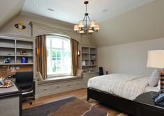 Built-ins are wonderful & perfect for a child's room