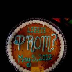 The way I asked my prom date