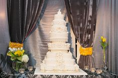 African Wedding - 8 tier Wedding Cake