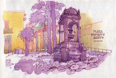 Plaza Espiritu Santo, Las Palmas de Gran Canaria Nina Johansson