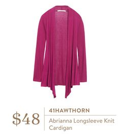 Oh look, another cardigan pin! (41Hawthorn Abrianna Longsleeve Knit Cardigan)