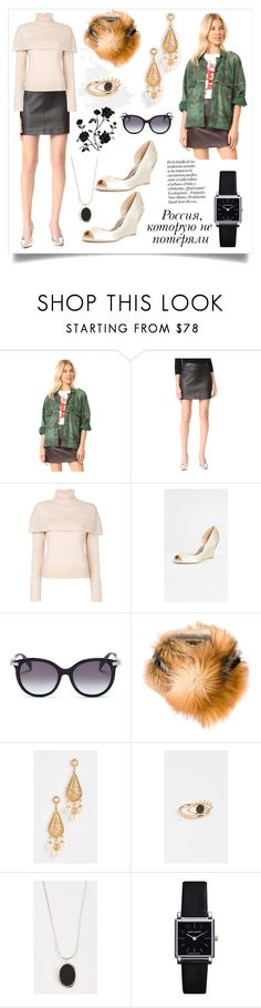 """Cape Shoulder Sweater..**"" by yagna on Polyvore featuring Free People, Helmut Lang, Badgley Mischka, Alexander McQueen, Ermanno Scervino, Ben-Amun, Contempoh, Isabel Marant and Paolo"