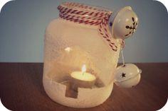 DIY; Eenvoudige kerstlichtjes // mason jar // xmas light