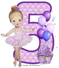 Abc Birthday Parties, 5th Birthday, Birthday Cards, Birthday Numbers, Letters And Numbers, Purple Flowers, Gift Baskets, Cake Toppers, Monogram