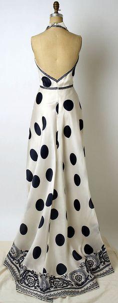 Carolina Herrera Dress - back - late 20th century ...