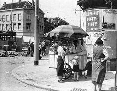 Rotterdam - Goudsesingel / Jonker Fransstraat. jaren 30